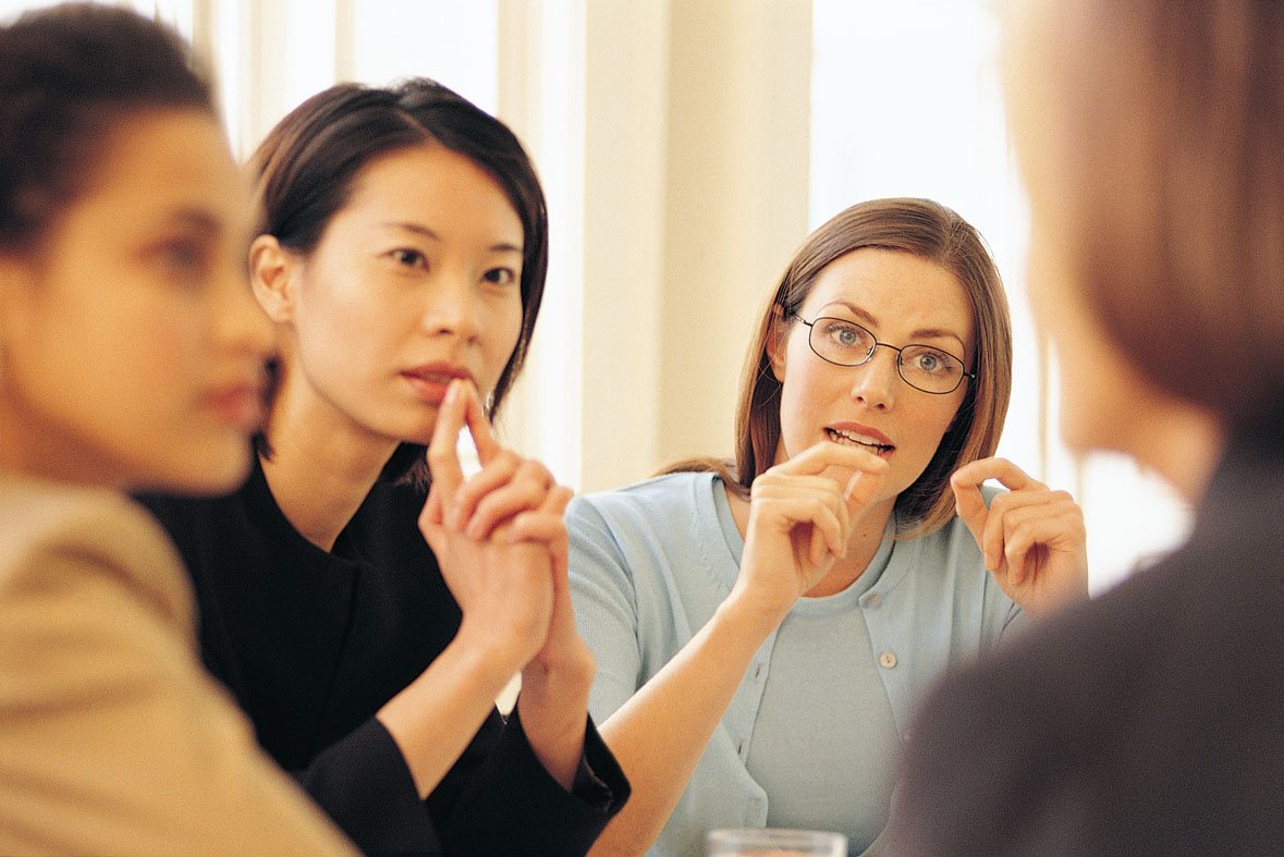 You don't have to be an extrovert to be good at or (gasp ... |Group Talking